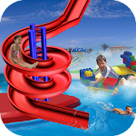 Water Slide Stunt Adventure 3D Icon