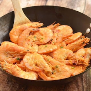 Salted Eggs Shrimps