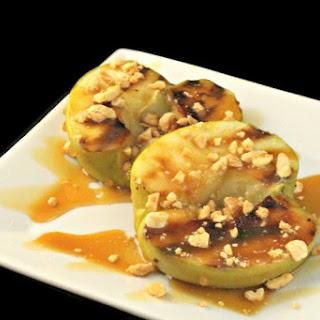 Grilled Caramel Apples