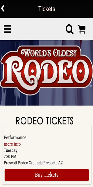 World's Oldest Rodeo-Prescott- screenshot
