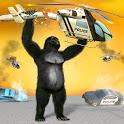 Crazy Gorilla Smash City Attack Prison Escape Game icon