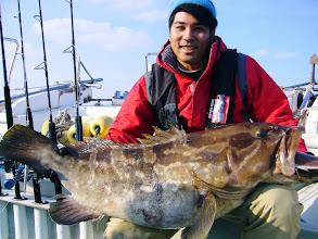 """Photo: やったぜー! ヒーハー! """"ナカシマさん"""" アラ22kg!"""