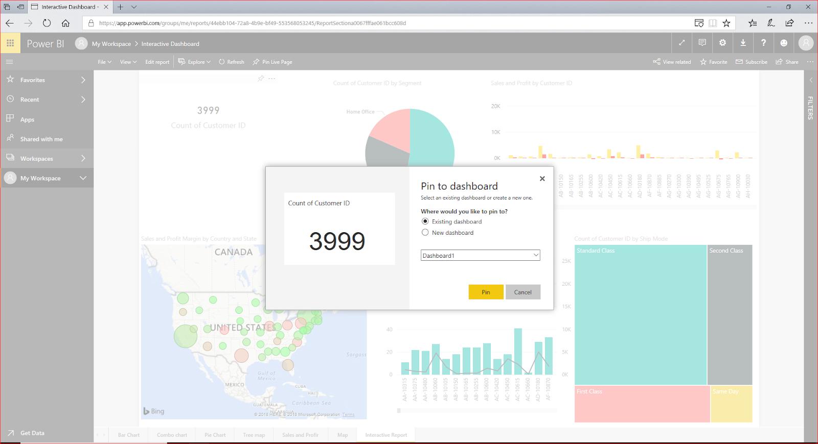 Interactive Dashboard In Microsoft Power BI 73