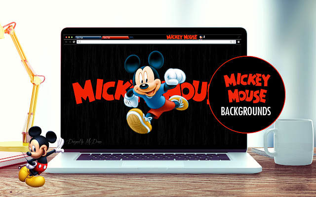 Mickey Mouse Tribute New Tab Gallery