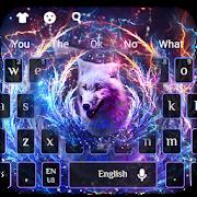 Neon Wolf Keyboard