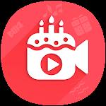 Happy Birthday Video Maker Icon