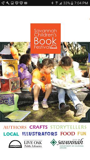 Savannah Children's Book Fest Screenshot