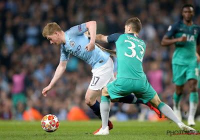 Kevin De Bruyne staat in het Champions League-elftal van de week