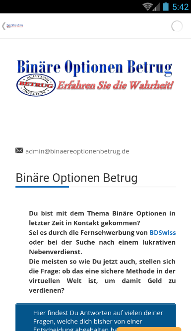 BinaereOptionenBetrug- screenshot