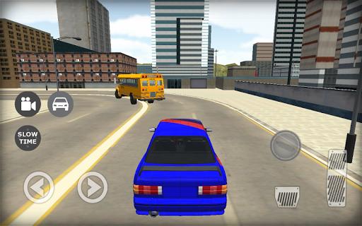 E30 Driving Traffic Simulator