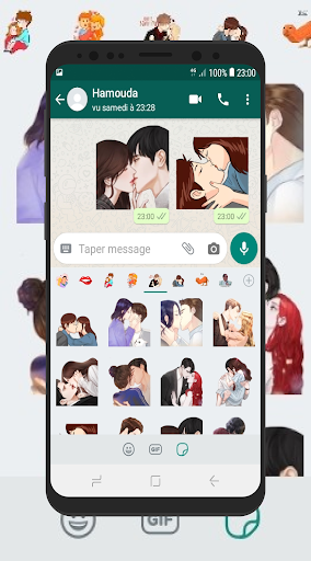 Kiss Stickers for Whatsapp 2020