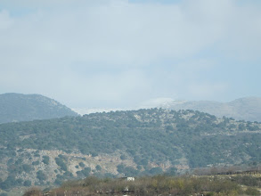 Photo: Snow on Mt Hermon