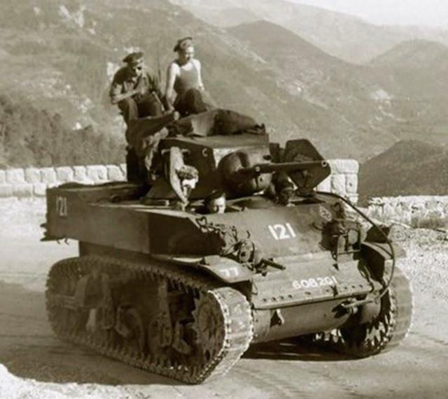 Un tanque de operaciones.