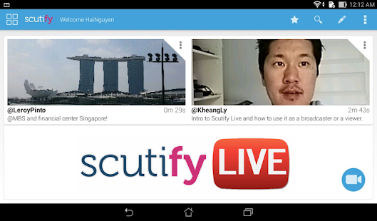 Scutify - Tablet- screenshot thumbnail