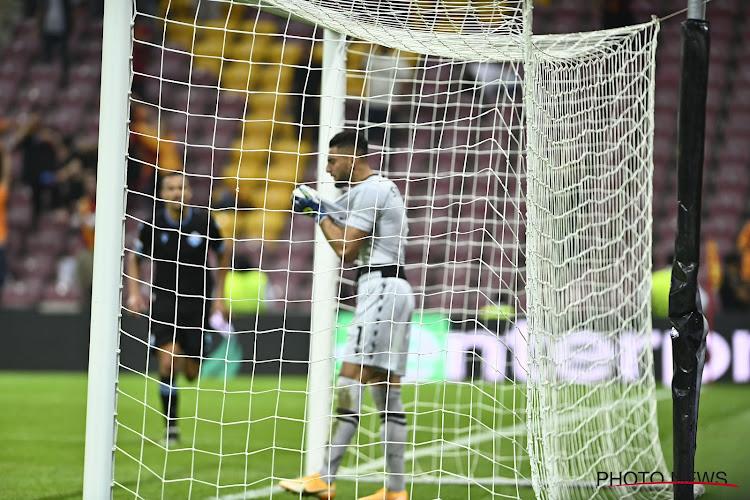 🎥 La terrible boulette du gardien de la Lazio face au Galatasaray