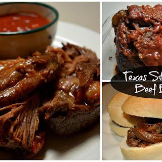 Texas Style BBQ Beef Brisket