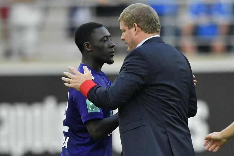 """Vanhaezebrouck beseft dat er bij Anderlecht geen blessures meer mogen volgen: """"Hij behoorde tot de beste rechtsbacks van België"""""""