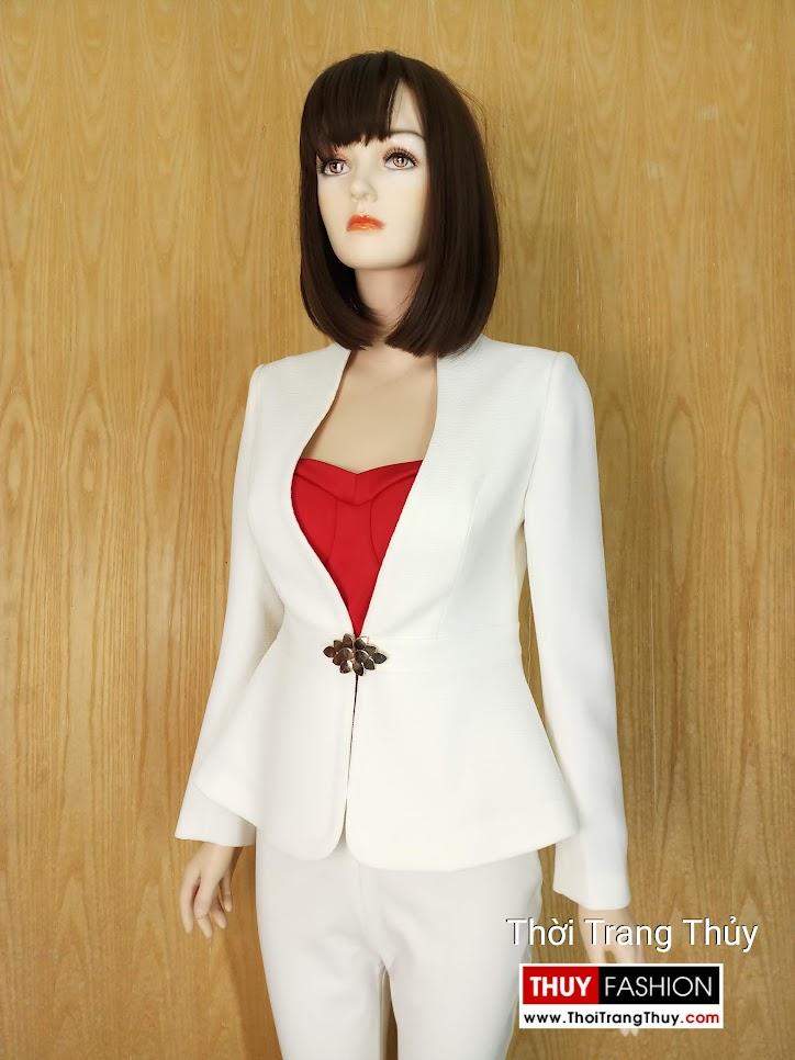 Thả tim với áo vest nữ peplum mùa Noel thời trang thủy hải phòng