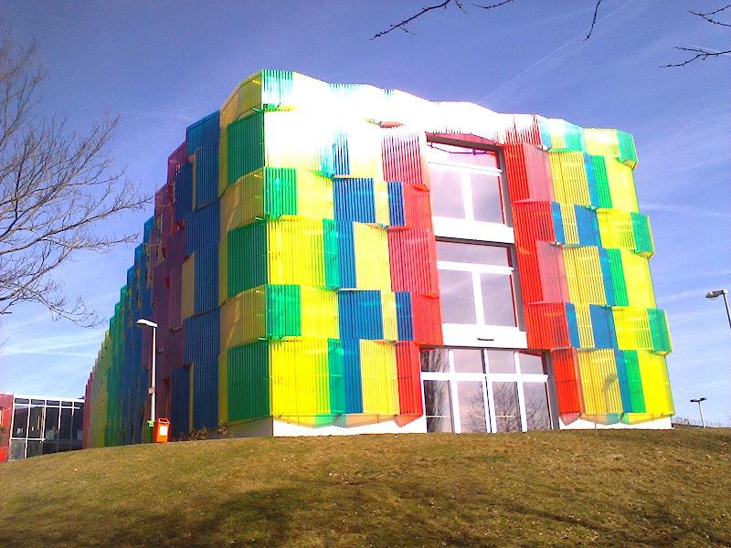 the building di Praz