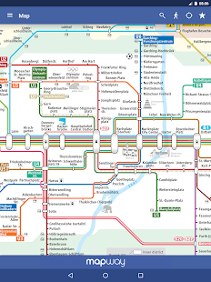 Munich metro mvg map and route planner android apps on google play munich metro mvg map and route planner screenshot thumbnail ccuart Images