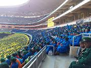 Church members fill up FNB stadium for a national prayer day