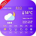 Live Weather Forecast and Radar Maps icon