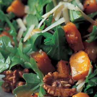 Roasted Butternut Squash Salad with Warm Cider Vinaigrette.