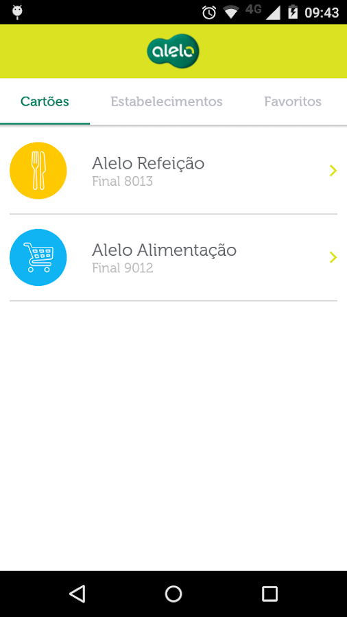Meu Alelo- screenshot