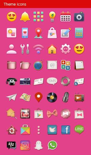 Cute Theme Emoji Love 1.0.0 Windows u7528 4