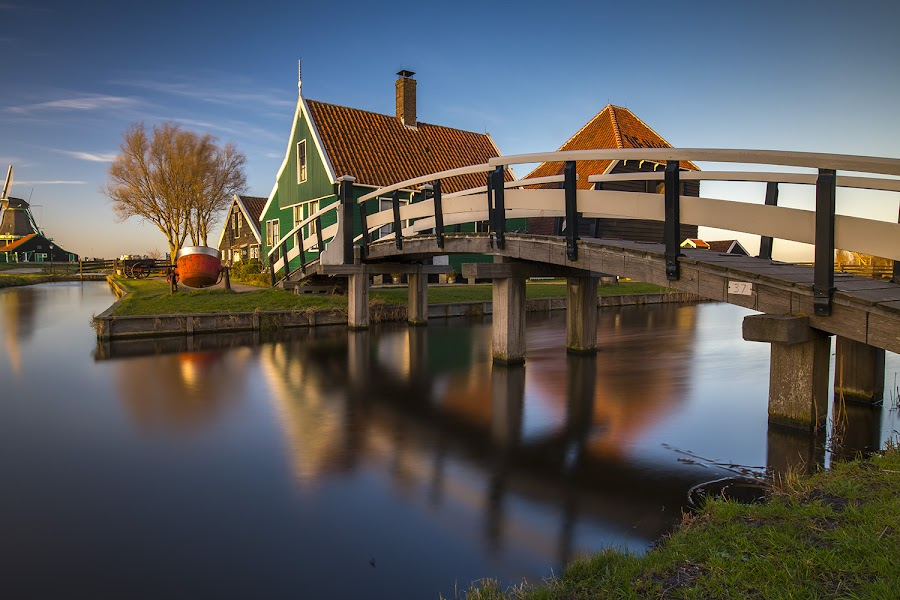 Zaanse Schans by Mac Evanz - Buildings & Architecture Bridges & Suspended Structures
