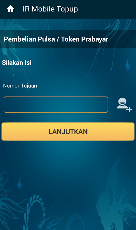 IR Mobile Topup- screenshot