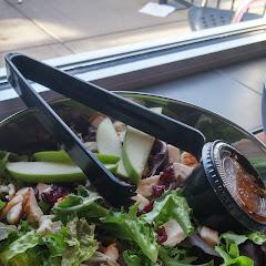 cran apple salad. gluten free by design.