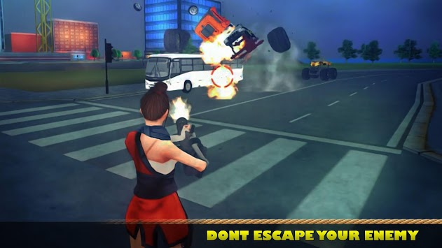 Ninja Girl Superhero Game apk screenshot