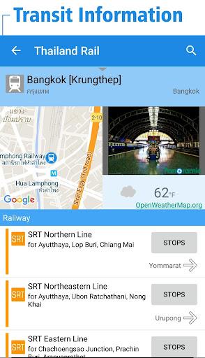 無料交通运输Appの타이 철도노선도 - 방콕・타이전국의 지하철・BTS・철도|記事Game