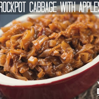 Crockpot Cabbage With Apples.