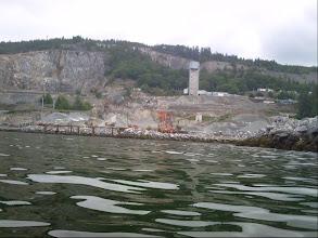 Photo: Cement plant on Texada Island.