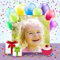 Birthday Photo Cards Maker icon