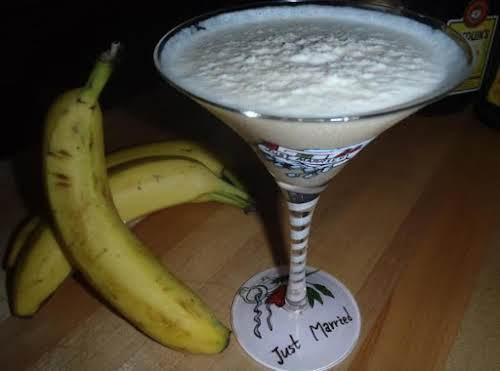 "Dirty Banana Cocktail ""Sweet, smooth, creamy and delicious! Be careful... you'll want..."
