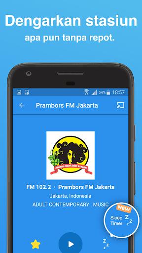 Simple Radio - Stasiun Radio FM AM  screenshots 2