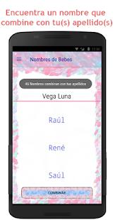 Nombres para Bebe - náhled