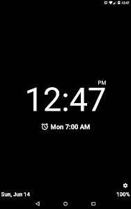 Night Clock (Alarm Clock) screenshot 5