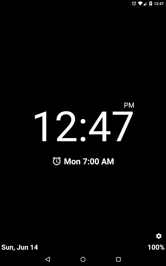 Night Clock (Alarm Clock)- screenshot