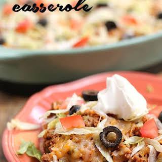 20-Minute Taco Salad Casserole.