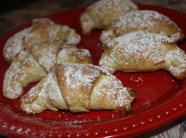 Plum Filled Crescents For Fat Tuesday Recipe