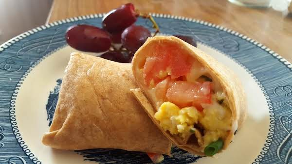 Easy, Healthy Breakfast Burrito Recipe