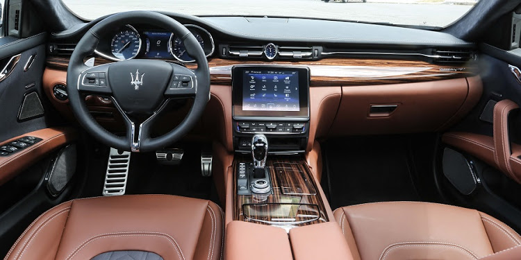 The interior gets new trim options as well as a much-needed improved infotainment system
