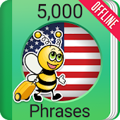 Learn American English Phrasebook - 5000 Phrases