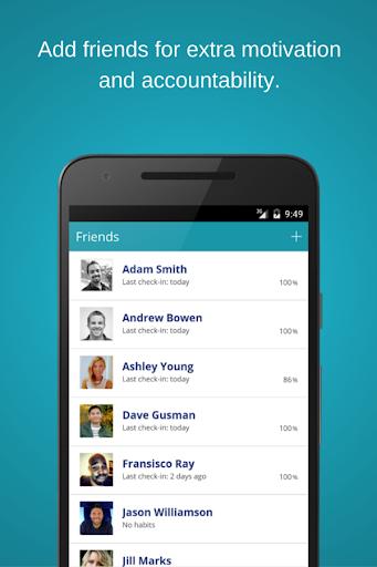 habitshare - habit tracker screenshot 2