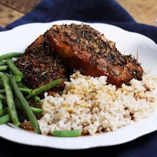 Slow Cooker Honey Rosemary Pork Chops Recipe