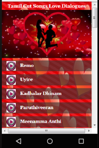 Download Tamil Cut Songs Love Dialogues Google Play Softwares